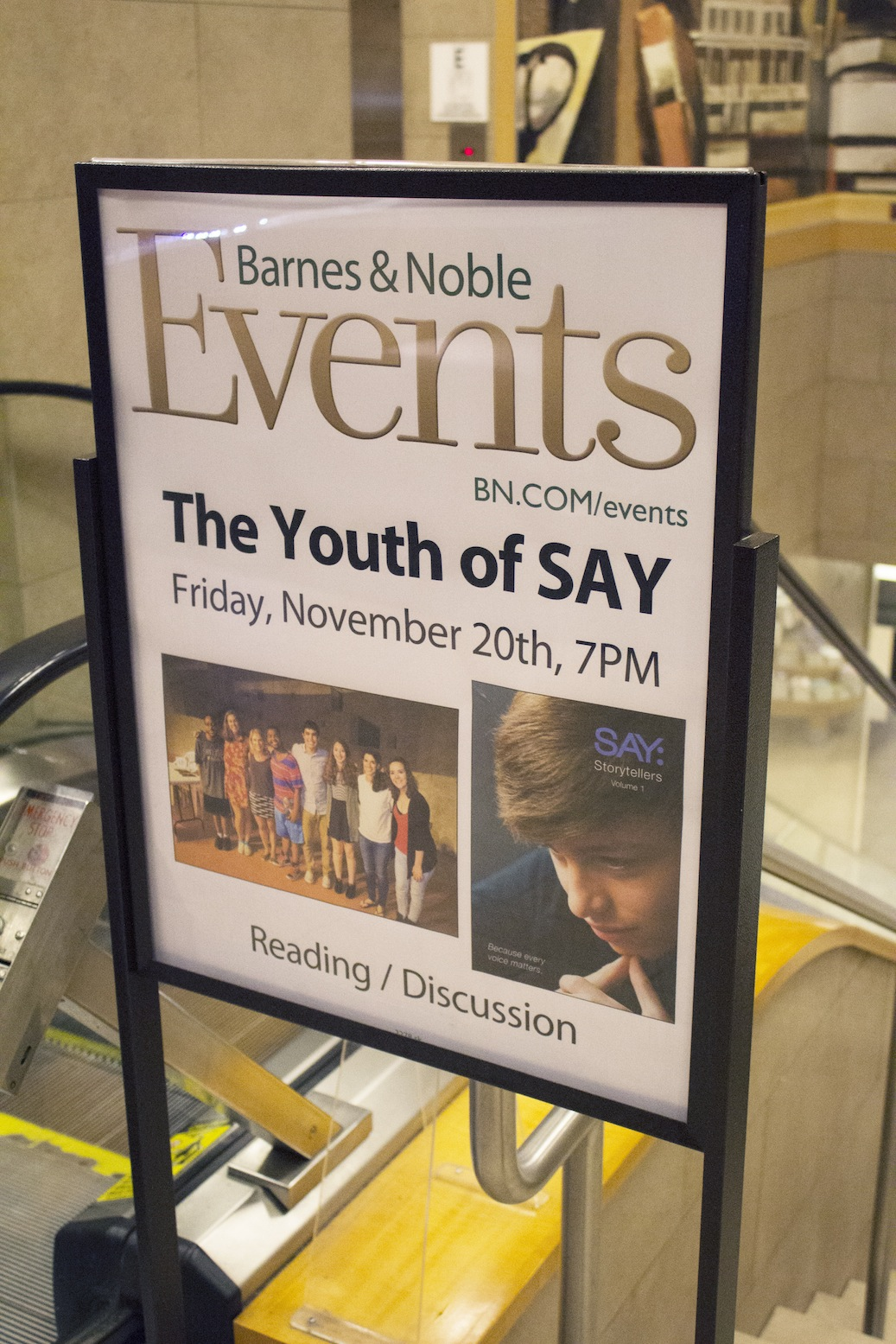Barnes & Noble event