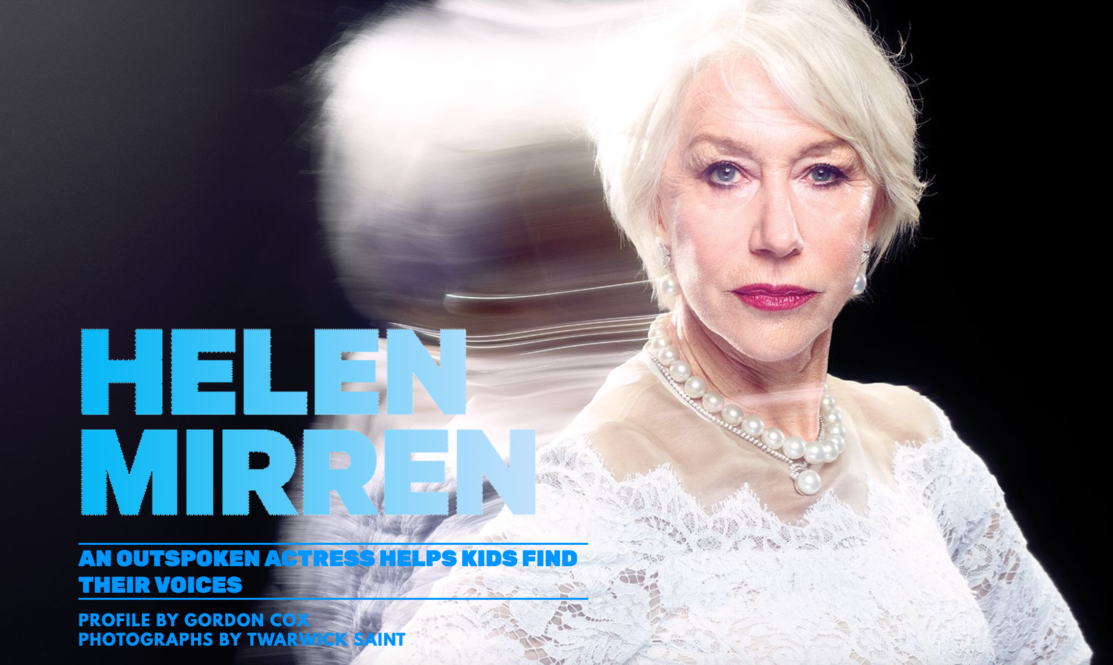 Helen Mirren: Variety Magazine Women of Power Awards