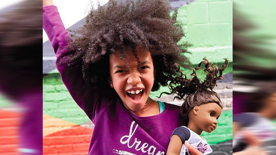 Long overdue American Girl doll represents black girls who stutter