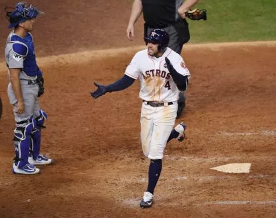 """I was the guy who didn't talk,'' says Springer, who hit the biggest home run in the Houston Astros' history Wednesday evening, a two-run shot in the 11th inning that provided the club's first World Series victory ever  - a 7-6 triumph."