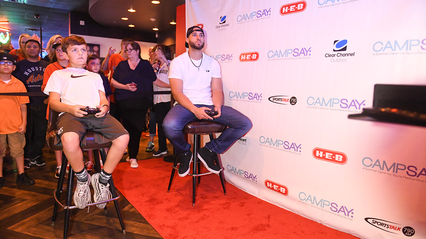 Event – George Springer Bowling Benefit – Fourth Annual – 2018