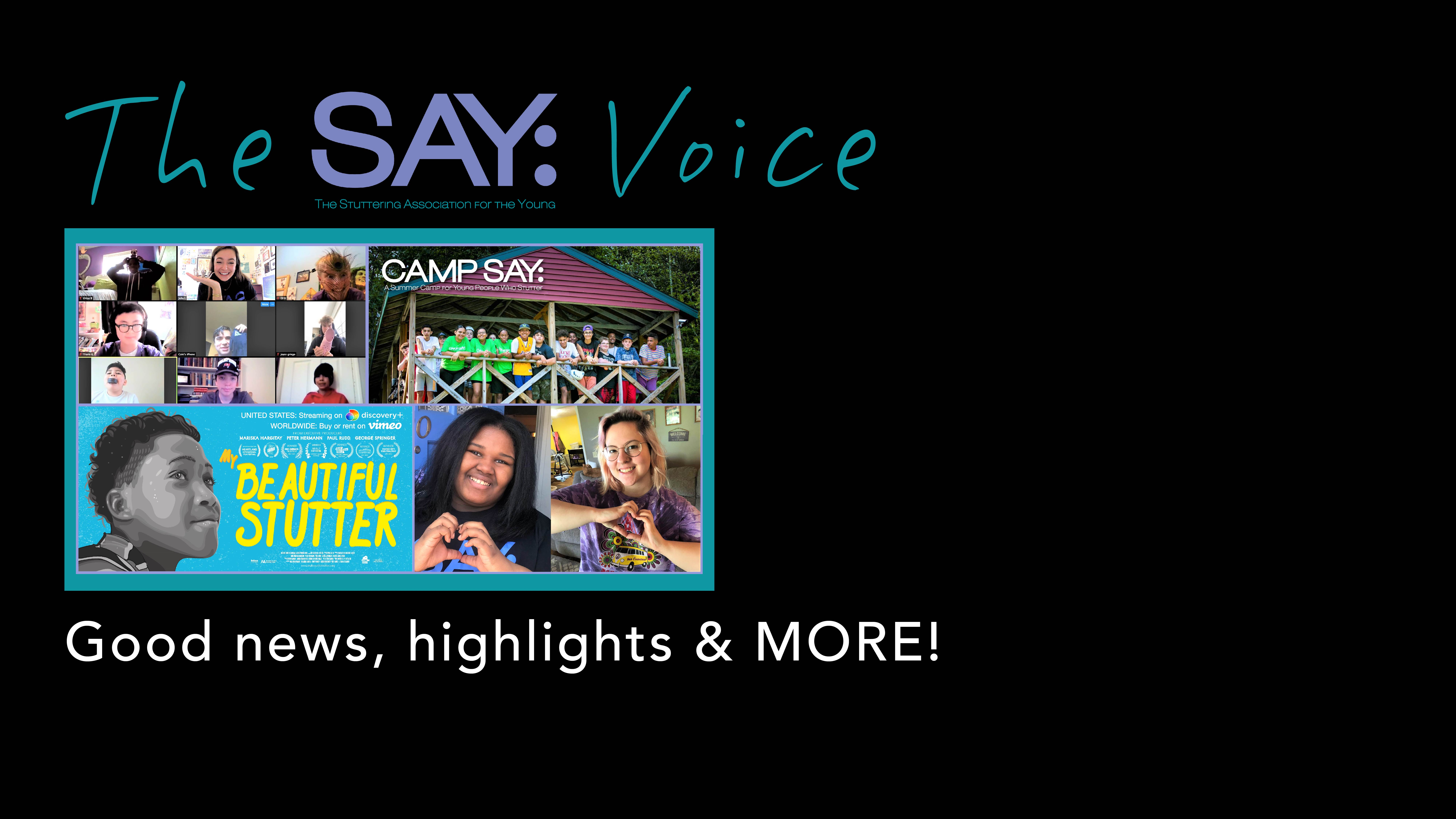 The SAY Voice Newsletter!