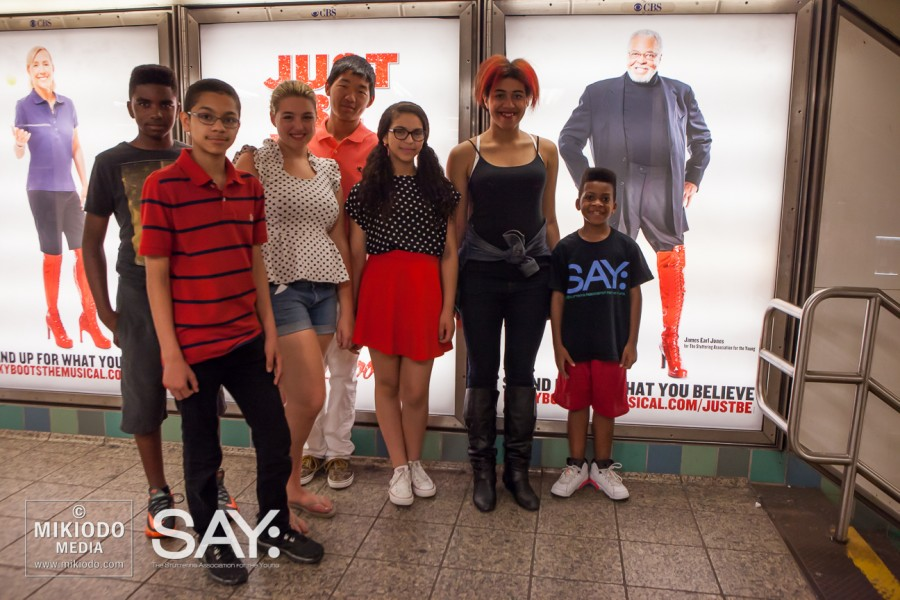 """James Earl Jones & Broadway Kinky Boots """"Just Be"""" Campaign"""