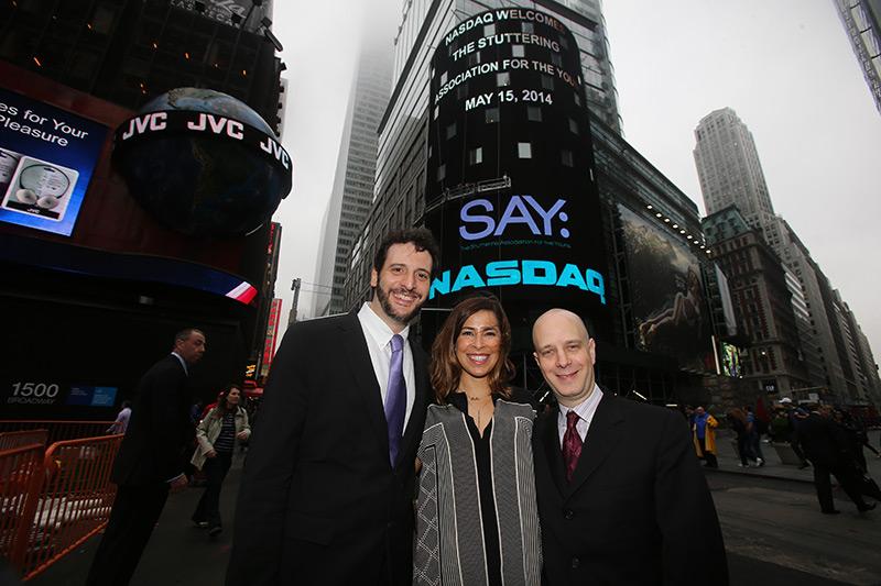 World SAY Day 2014 at NASDAQ