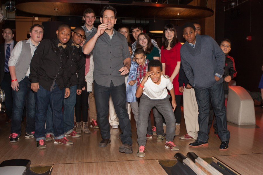 Paul Rudd Third Annual All-Star Bowling Benefit