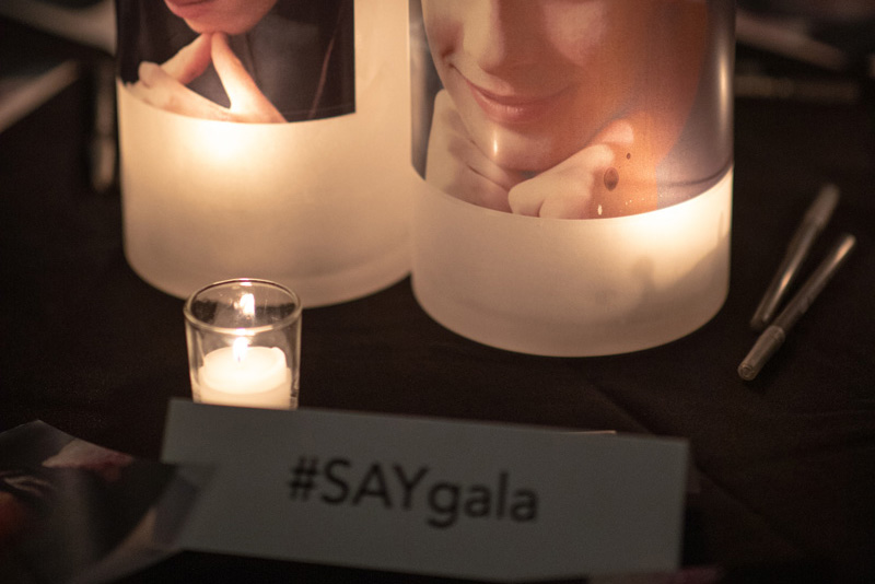 SAY's 18th Annual Benefit Gala – September 14, 2020