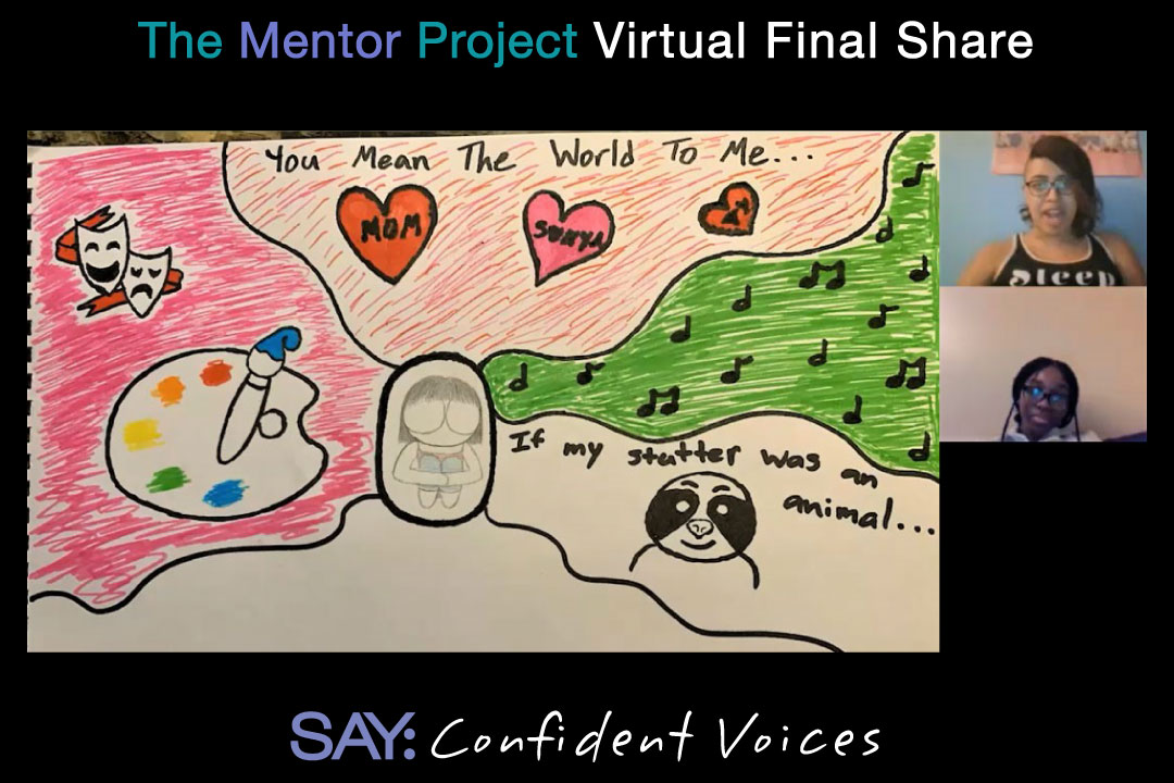 SAY Confident Voices Mentor Project