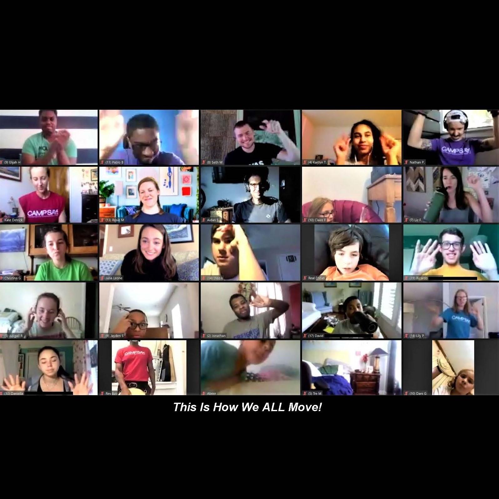 Virtual Camp SAY 2020 – August 2-16, 2020