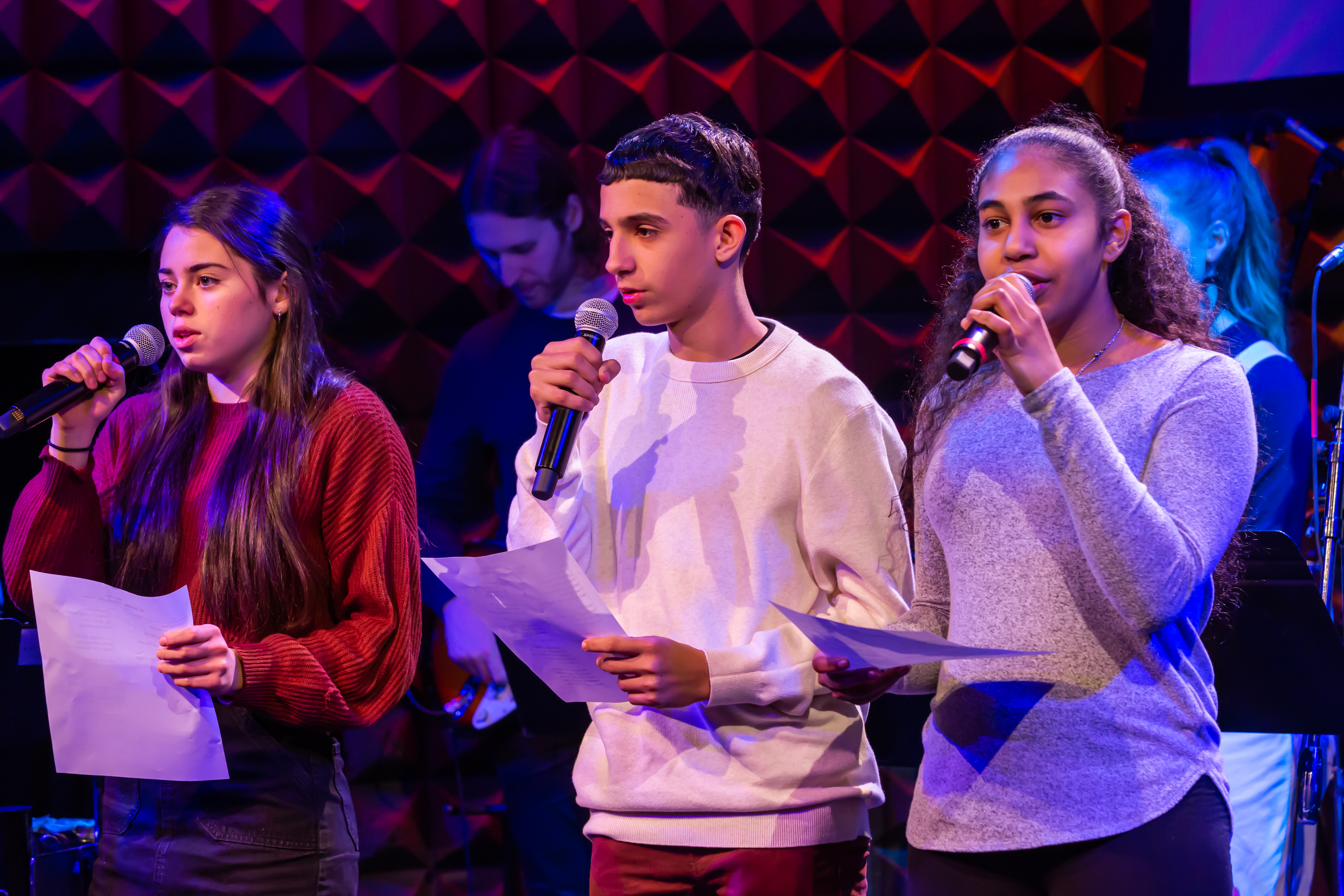 Confident Voices Songwriting Project Performance