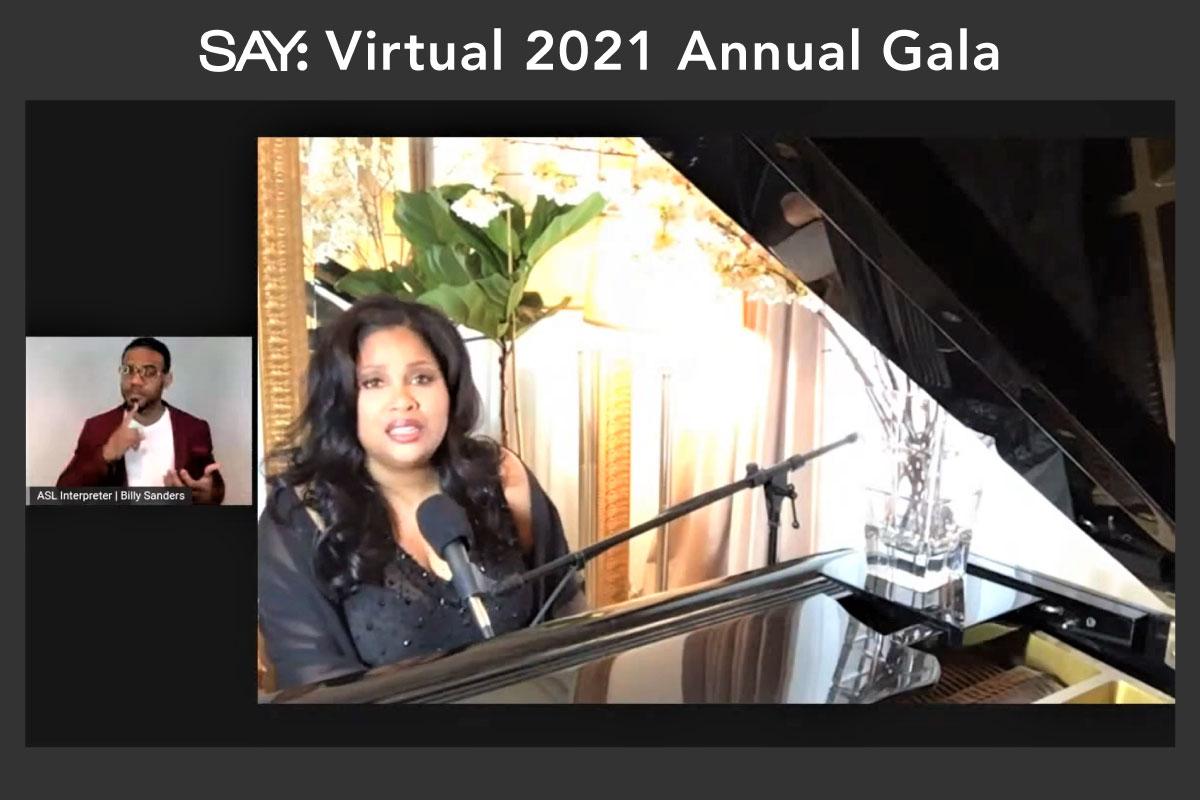 SAY's Virtual 2021 Annual Gala